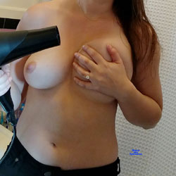 Getting Ready - Topless Wives, Big Tits, Amateur