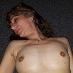 Small tits of a co-worker - Nina Reda