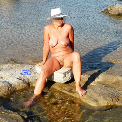 Wife On A Nudist Beach - Nude Wives, Beach, Big Tits, Mature, Outdoors, Shaved, Amateur