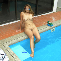 Women showing off their naked bodies