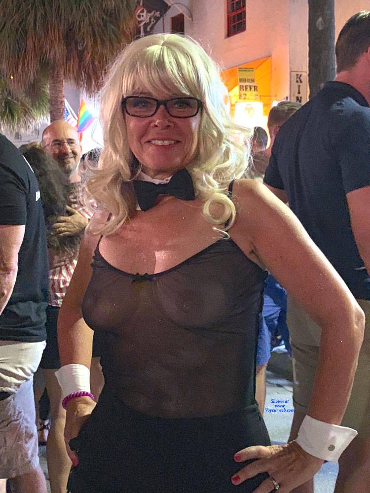 Key west fantasy fest nude mature women