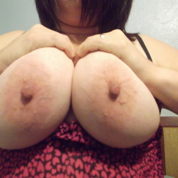 Very large tits of my ex-wife - lisa