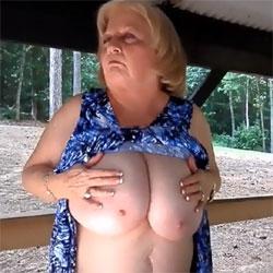 Picnic Time - Big Tits, Mature, Outdoors, Amateur