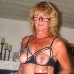 Slutty Pierced Milf In Lingerie - Wives In Lingerie, Mature, Shaved, Amateur, Body Piercings, legs spread wide open, stockings pics