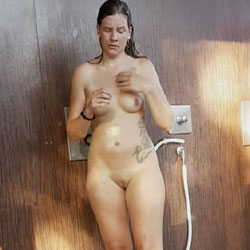 In A German Spa Part 7 - Nude Girls, Brunette, Shaved