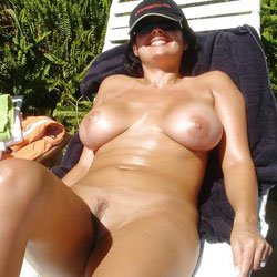 Selma Brasil - Brunette, Outdoors, Amateur