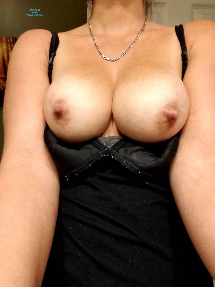 Pic #2 KK's Beautiful Tits - Big Tits, Wife/wives, Amateur, Big Nipples