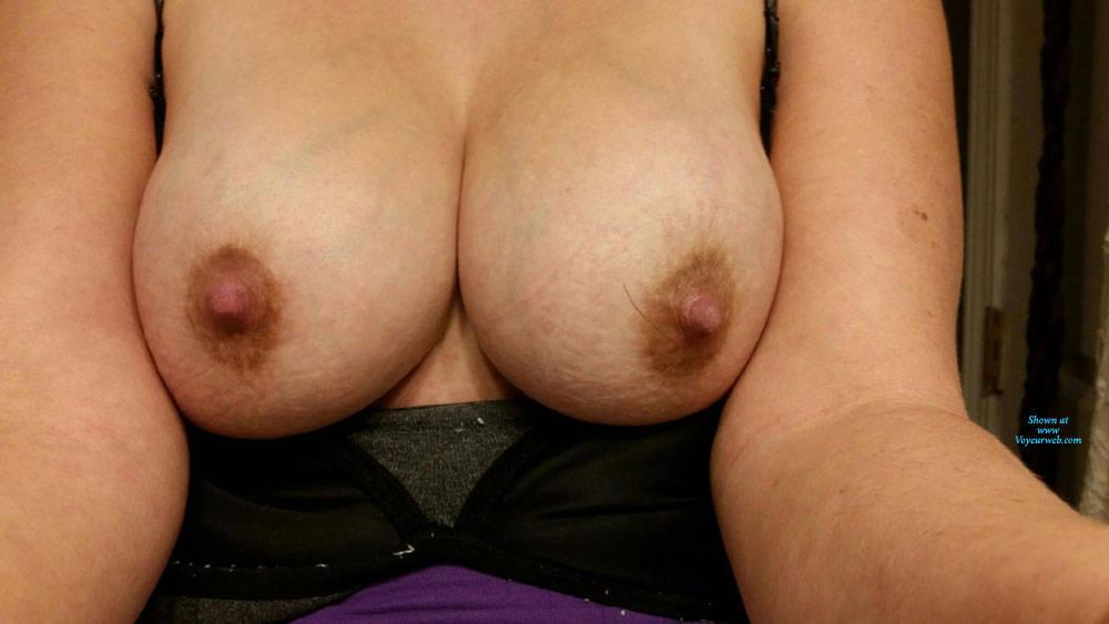 Pic #3 KK's Beautiful Tits - Big Tits, Wife/wives, Amateur, Big Nipples