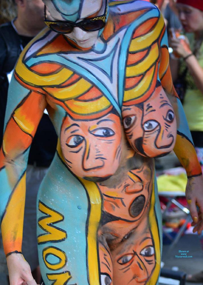 Body Painting - New York City, Example Six - November -9530
