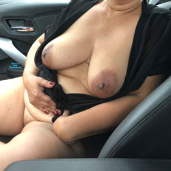 Car Fun - Big Tits, Mature, Wife/Wives, Amateur