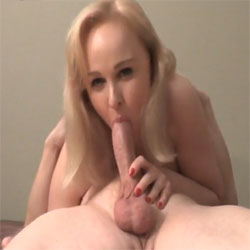 BJ 69 And CIM - Nude Amateurs, Blonde, Blowjob, Cumshot, Amateur, Facials