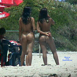 Tambaba Beach, Brazil - Nude Girls, Beach, Brunette, Outdoors, Beach Voyeur