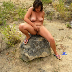 Naked Wife On The Beach By The Lake - Nude Wives, Outdoors, Nature, Amateur