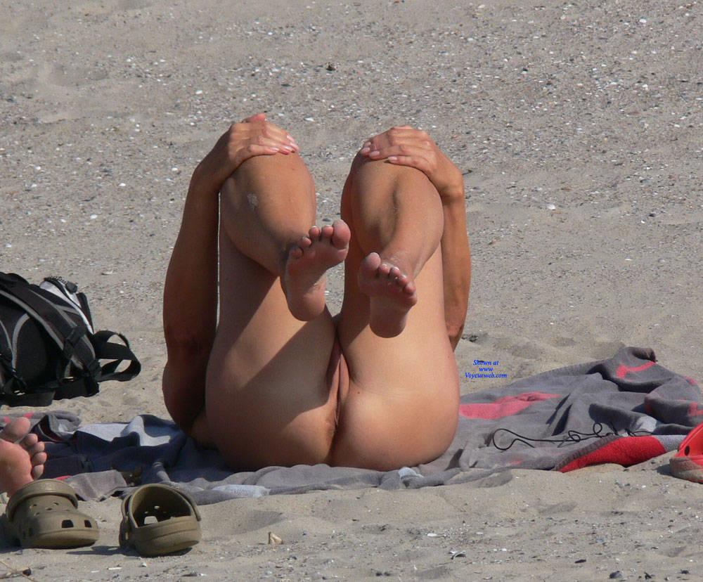 Pic #8 Nude Beach - Nude Girls, Beach, Big Tits, Outdoors, Beach Voyeur