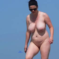 Pic #2 Nude Beach - Nude Girls, Beach, Big Tits, Outdoors, Beach Voyeur