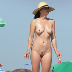 Nude Beach - Nude Girls, Beach, Big Tits, Outdoors, Beach Voyeur