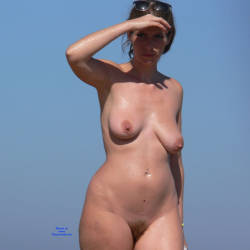 Pic #5 Nude Beach - Nude Girls, Beach, Big Tits, Outdoors, Beach Voyeur