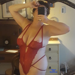 New Lingerie - Big Tits, Brunette, Lingerie, Mature, Amateur