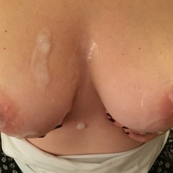 My large tits - shy wife