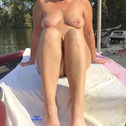 Another Day On The Lake - Nude Girls, Big Tits, Outdoors, Amateur