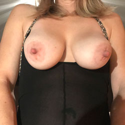 Nylon Bodysuit - Big Tits, Mature, See Through, Amateur