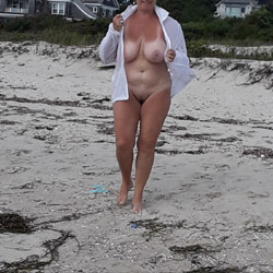 Stroll In The Afternoon - Beach, Big Tits, Outdoors, Amateur
