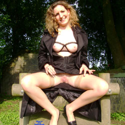 Frederique Spreads - Public Exhibitionist, Flashing, Outdoors, Public Place, Amateur