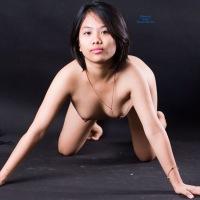 Her 1st Photo Shoot - Brunette, Asian, Teens