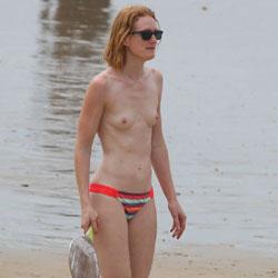 Summer In Les Sables d'Olonne - Topless Girls, Beach, Outdoors, Beach Voyeur