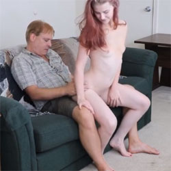 Beth's First Lap Dance - Nude Girls, Lingerie, Redhead, Small Tits, Amateur, Firm Ass, Girls Stripping