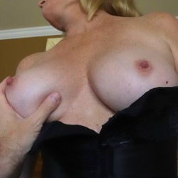Large tits of my wife - Lizzie