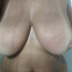 Very large tits of my wife - Tereza