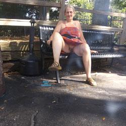 Fun At Amusement Park - Pantieless Wives, Mature, Outdoors, Amateur