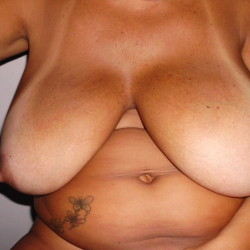 Extremely large tits of my wife - Tereza