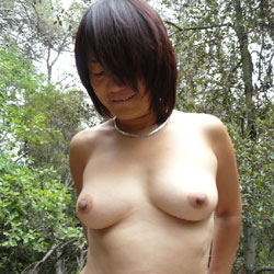 Naked In Forest Part 2 - Brunette, Mature, Outdoors, Nature, Amateur, Girls Stripping, Wife/Wives
