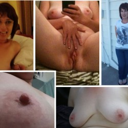 Large tits of a co-worker - Here she is