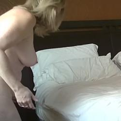 Medium tits of a neighbor - Neighbors wife