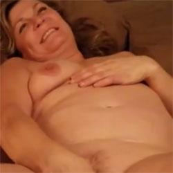 Enjoying Her Toy - Nude Girls, Big Tits, Masturbation, Toys, Shaved, Amateur, Women Using Dildos