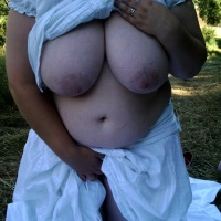 My extremely large tits - lucy bbw