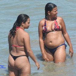 1 Jan In Janga Beach, Brazil - Beach, Brunette, Outdoors, Bikini Voyeur