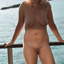 Sweet Wife In Holiday Pt. 2 - Nude Wives, Big Tits, Outdoors, Shaved, Amateur