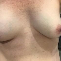 Small tits of my wife - Kira1