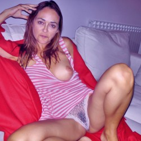 Medium tits of my wife - Marti
