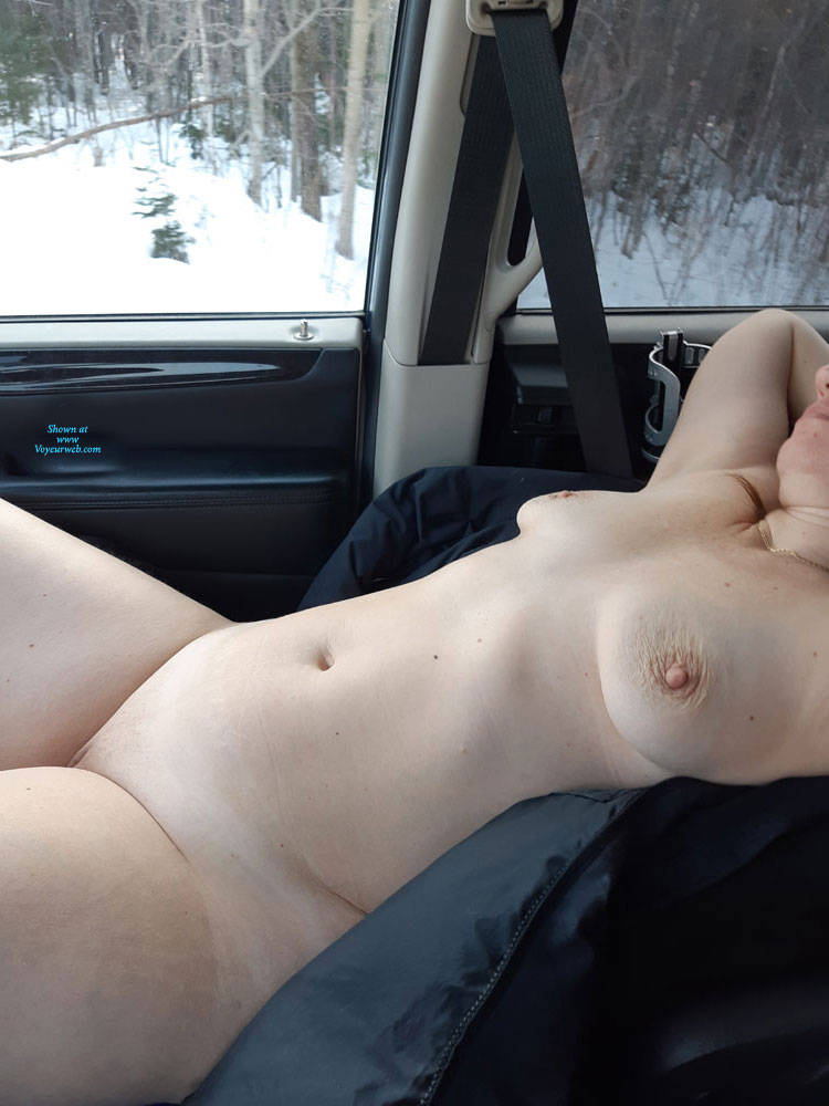 truck in Naked girl