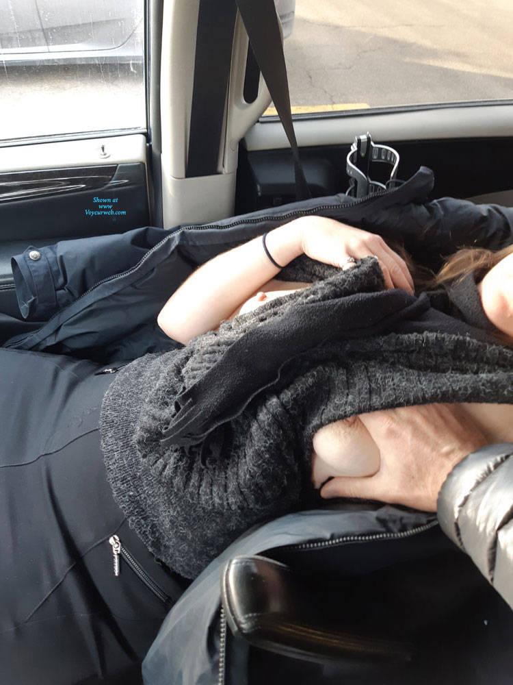 black women nude in the car