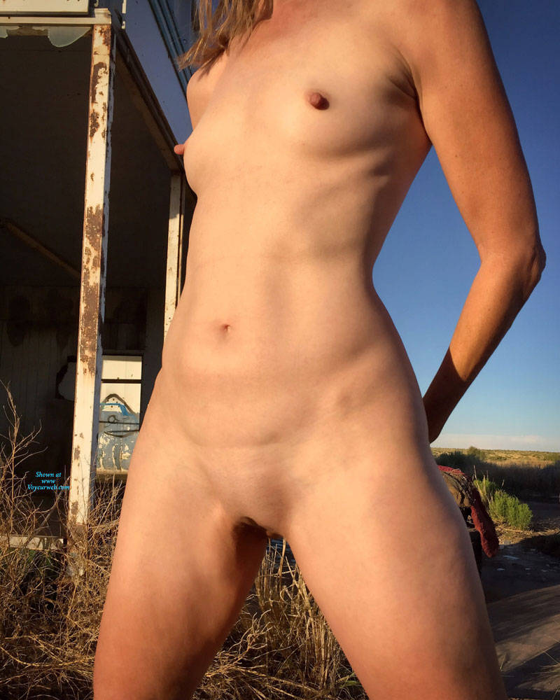 Pic #9 Nirvana Texas Cowgirl - Nude Girls, Public Exhibitionist, Outdoors, Small Tits, Amateur