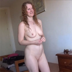 Daisy's Nude Public Balcony Exhibitionist Movie - Nude Girls, Big Tits, Outdoors, Redhead, Shaved, Amateur