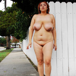 Alexandra Goes Nude In Public - Nude Girls, Big Tits, Public Exhibitionist, Outdoors, Public Place, Redhead, Amateur