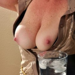 Large tits of my wife - HotWife45