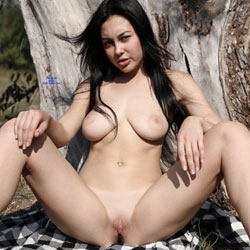 Close To You - Nude Girls, Big Tits, Brunette, Outdoors, Shaved, Amateur, Firm Ass, legs spread wide open